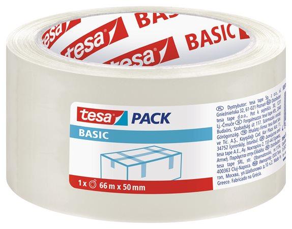 Csomagolószalag, 50 mm x 66 m, TESA