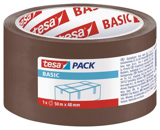 Csomagolószalag, 48 mm x 50 m, TESA