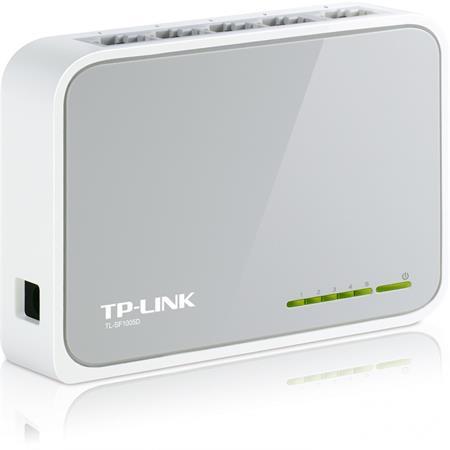 Switch, 5 port, 10/100Mbps, TP-LINK