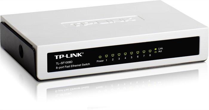 Switch, 8 port, 10/100 Mbps, TP-LINK