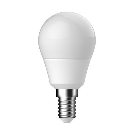 LED izzó, E14, P45 kis gömb, 5,5W, 470lm, 2700K, TUNGSRAM