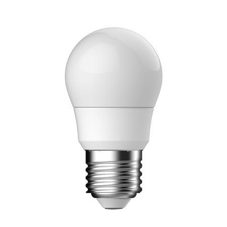 LED izzó, E27, P45 kis gömb, 3,5W, 250lm, 2700K, TUNGSRAM