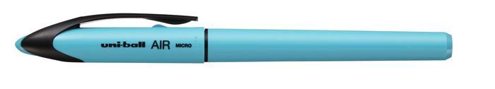 Rollertoll, 0,25-0,5 mm, égkék tolltest, UNI