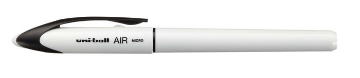 Rollertoll, 0,25-0,5 mm, fehér tolltest, UNI