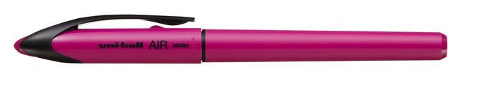 Rollertoll, 0,25-0,5 mm, rózsaszín tolltest, UNI