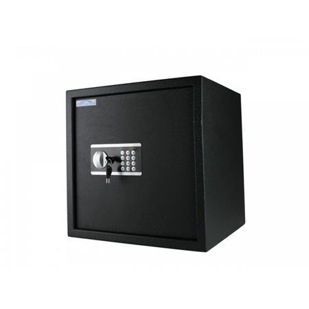 Lemezszekrény, elektronikus zár, 48l, 400x400x350 mm,