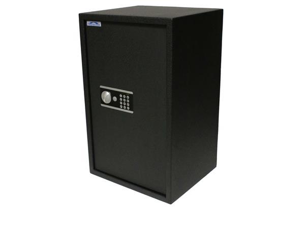 Lemezszekrény, elektronikus zár, 78l, 650x440x350 mm,