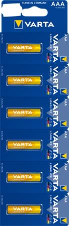 Elem, AAA mikro, 6 db, egyesével téphető, VARTA