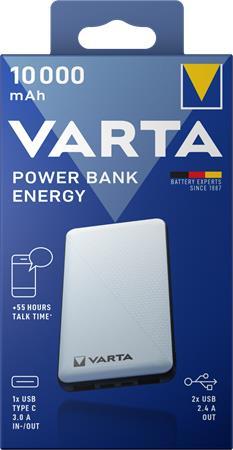 Hordozható akkumulátor, 10000 mAh, VARTA