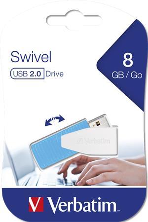 Pendrive, 8GB, USB 2.0, 8/2MB/sec, VERBATIM