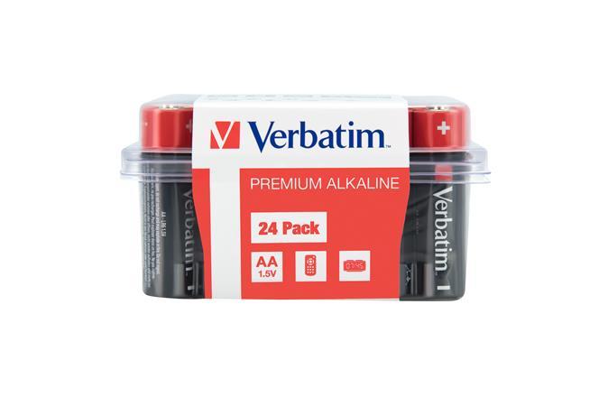 Elem, AAA, alkáli, 24 db, VERBATIM