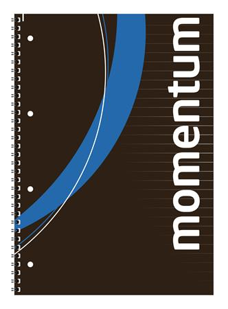 Wirebound notebook, A4, lined, 90 sheets, VICTORIA,