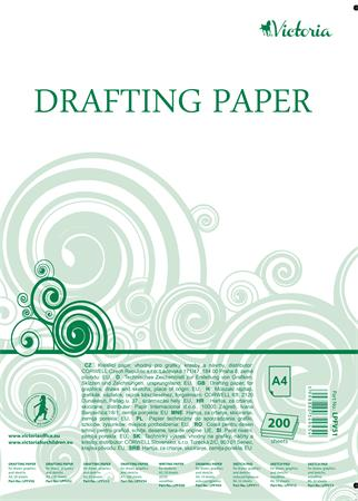 Drafting paper, A4, VICTORIA