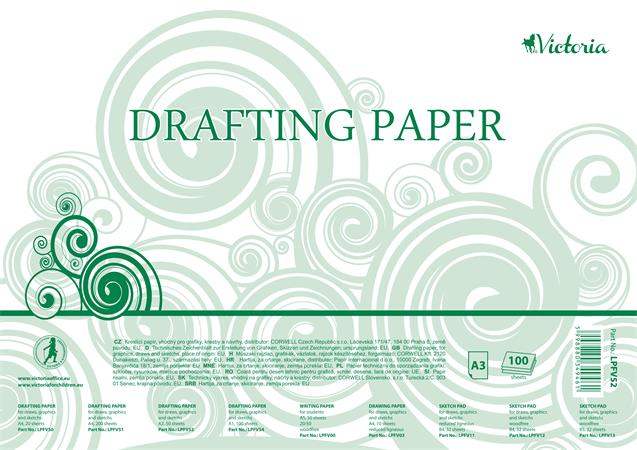 Drafting paper, A3, VICTORIA