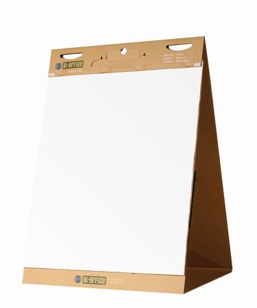 Asztali flipchart, öntapadó, 20 lap, 58,5x50 cm