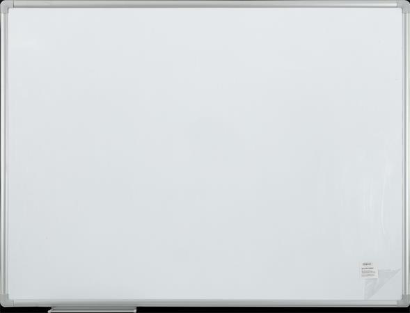 Fehértábla, mágneses, alumínium keret, 90x120 cm