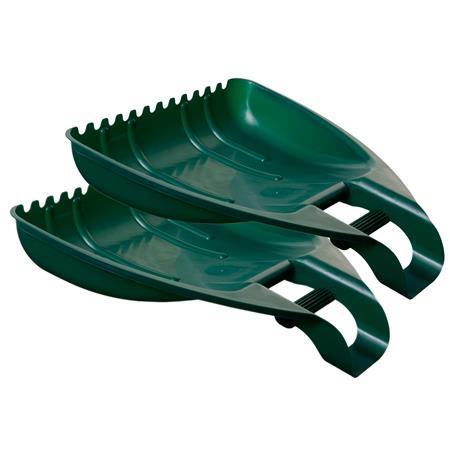 Kerti lombgyűjtő, két részes, WHITEFURZE, zöld