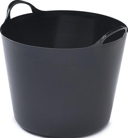 Rugalmas vödör, 26 liter, WHITEFURZE, fekete