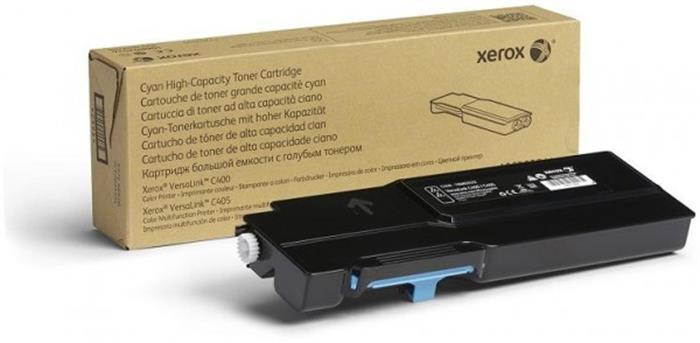 106R03522 Létertoner VersaLink C400, C405 nyomtatókhoz, XEROX, cián, 4,8k